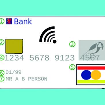 NFC auf Kreditkarten für Kleinstbeträge